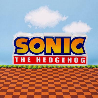 Fizz Creations Sonic Logo Light Front