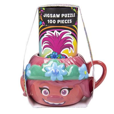 Fizz Creations Trolls Mug and Puzzle